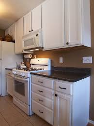 Painting Kitchen Cabinet Emejing Painting Oak Kitchen Cabinets White Photos Decorating