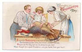 the allen family bermuda triangle vintage thanksgiving postcards ftw