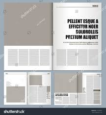 modern magazine layout template stock vector 314180531 shutterstock