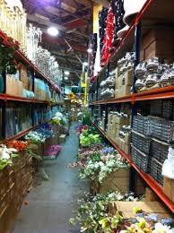 rows of silk flowers and vases picture of new covent garden
