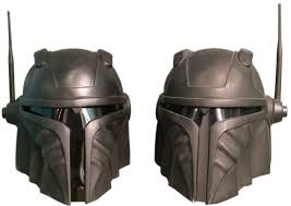 the renegade black tie edition mandalorian helmet