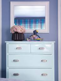 Girls White Bedroom Dresser With Mirror Girls U0027 Bedroom Mixes Playful With Practical Hgtv