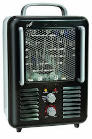 amazon com comfort zone deluxe fan forced ceramic utility heater