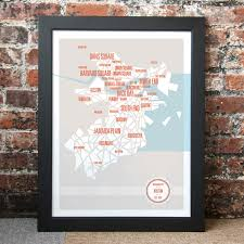 Boston Neighborhoods Map by Boston Neighborhoods Map These Are Things Touch Of Modern