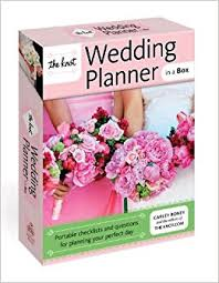 how to become a wedding coordinator the knot wedding planner in a box portable checklists and