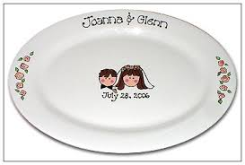 personalized wedding plate wedding guest book signature platter serendipity crafts