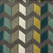 Home Decor Print Fabric Ziba Chevron Pattern Cotton Blend Upholstery Fabric By The Yard