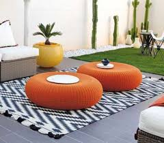 Upcycle Ottoman Tire Rope Ottoman Is A Easy Diy Funzapi