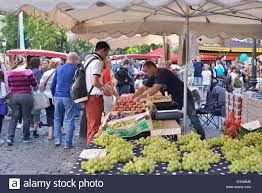 brussels belgium 18th sep 2016 market in historical