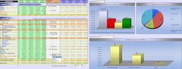 Budget Excel Template Financial Statement Analysis Excel Xlsx Templates