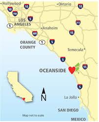 Los Angeles Airport Terminal Map by Oceanside Transportation Visit Oceanside