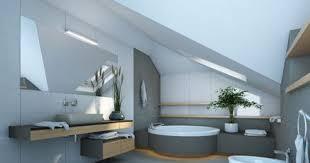 salle de bain dans chambre sous comble aménager une salle de bains sous les combles