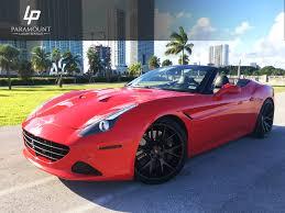 Ferrari California Coupe - ferrari california t for rent in miami paramount luxury rentals