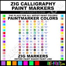 bluebonnet calligraphy paintmarker marking pen paints ms3400