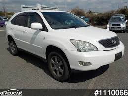 toyota lexus harrier 2004 used toyota harrier from japan car exporter 1110066 giveucar