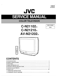 jvc av n21202 c n21102 c n21210 manual de servicio power supply