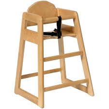chaise bebe en bois chaise haute sans plateau pour enfant simplex bois clair ref sim cl