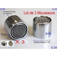 brise jet robinet cuisine lot 3 mousseur robinet d24 femelle économiseur eau aérateur brise