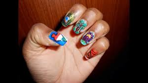 nail art 15 august indian independence day india national