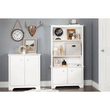 south shore storage cabinet south shore vito pure white storage cabinet 10326 the home depot