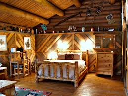 Rustic Attic Bedroom by Red Horse Mountain Ranch Family Friendly Review