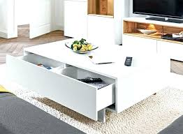 Modern Glass Coffee Tables Modern Coffee Table Contemporary Square Motion Storage Coffee