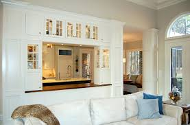 inspiration living room division on open divider between kitchen