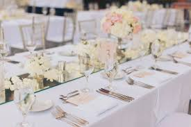 grey table runner wedding andrea eppolito events las vegas wedding planner stephanie and