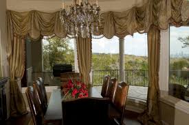 Dining Room Curtains Ideas by Dining Room Curtain Ideas Standin Lamp Chandelier Oriental Rug