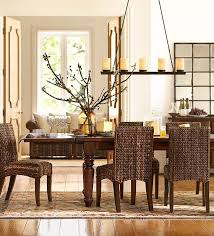 Dining Room Furniture Decorating Seagrass Dining Chairs In Brown For Dining Room