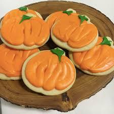 Halloween Pumpkin Sugar Cookies - cookies on goldbely