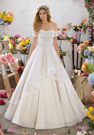 mori bridal megara wedding dress style 6854 morilee
