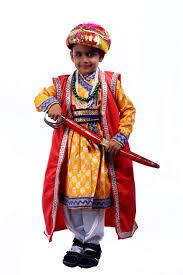 historical king akbar costume for kids