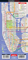 Manhattan Map Subway by Nyc Classic Unfolds Pop Up Map By Vandam Laminated Pocket