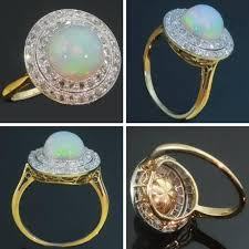 vintage opal engagement rings antique opal and ring ringscladdagh random musings