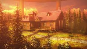 forest house k4 log house aincrad floor 22 sword art online