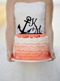 anchor wedding cake topper charming deet 348 toppers that take the cake shay lynne weddings