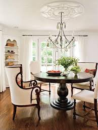 southern dining room pedestal dining table cottage dining room