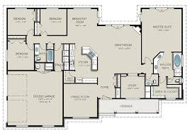 4 Bedroom Floor Plans For A House Innovation Idea 4 Bedroom House Floor Plans Top With 3 Car Garage