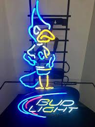 bud light neon signs for sale rare creighton bud light bluejay neon sign real neon light for sale