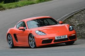 porsche car 2016 new porsche 718 cayman s 2016 review auto express