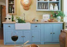 freestanding kitchen cabinets natural wood with farmhouse sink