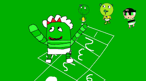Yo Gabba Gabba Images by Yo Gabba Gabba Images Babies Brobee Butter Cup Green Puppy