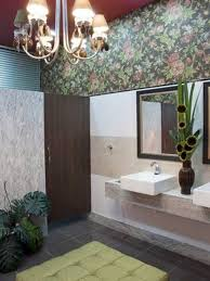 wallpaper designs for bathrooms cool interior design ideas which include the redesign with wall