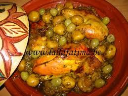 cuisine marocaine tajine tajine de poulet aux chignons entiers et olives la cuisine
