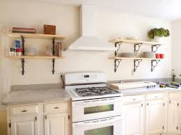 Kitchen Wall Shelves by Kitchen Wall Mounted Kitchen Shelves With Charming Kitchen