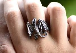 of thrones engagement ring handmade silver ring inspired by of thrones gadgetsin