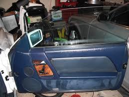 r129 500sl restoration making blue interior parts