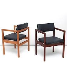 Chair Case Contemporary Chair With Armrests Solid Wood Leather West