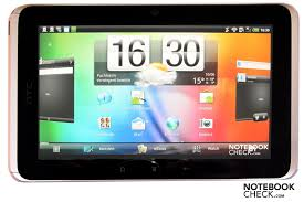 review htc flyer 7 inch wifi 3g tablet mid notebookcheck net reviews